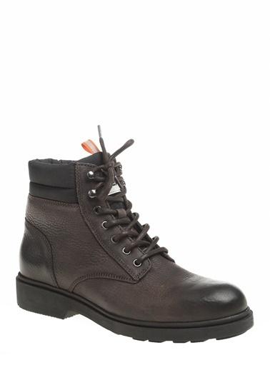 Tommy Hilfiger Erkek Casual Leather Boot Bot EM0EM00314 Renkli